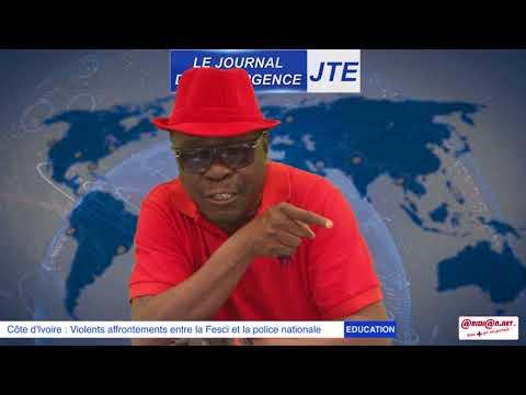 JTE : Recrudescence des affrontements Fesci-Policiers: ce que propose Gbi de Fer