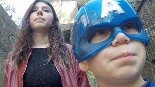 Kid Captain America: Civil War Pt 1