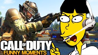 ASIAN MAN ROASTS RACIST on Call of Duty! (Voice Trolling)