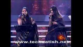 Mahathi and Shweta Mohan in jFW AWARDS 2012