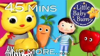 Growing Up Songs | Part 2 | Plus Lots More Nursery Rhymes | 45 Mins Compilation by LittleBabyBum!