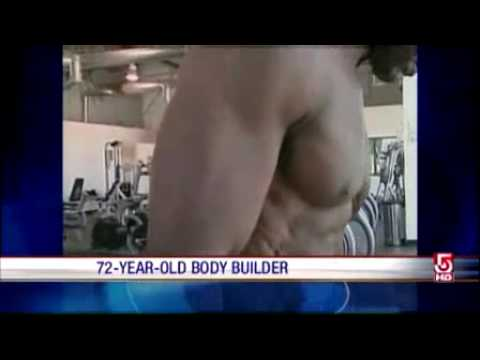 72 Year-Old Man Raw Vegan Body Building Every Day (now 75 Year-Young :))