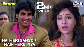 Hai Meri Sanson Main Mere Piya - Sainik | Akshay Kumar & Ashwini Bhave | Suhasini