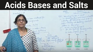 Acids Bases and Salts (More about salt)