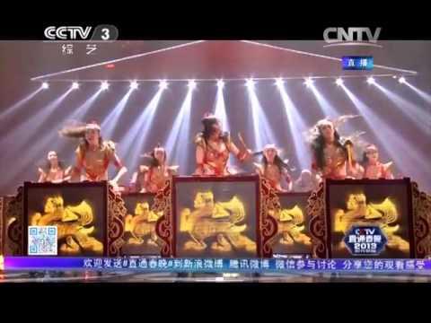2013年我要上春晚 舞蹈《鼓舞中国》 黑龙江代表队| CCTV春晚