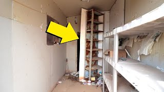 We Found A Secret Door To A Secret Room And What We Found Inside Was Chilling...