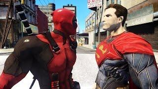 DEADPOOL VS SUPERMAN - EPIC BATTLE