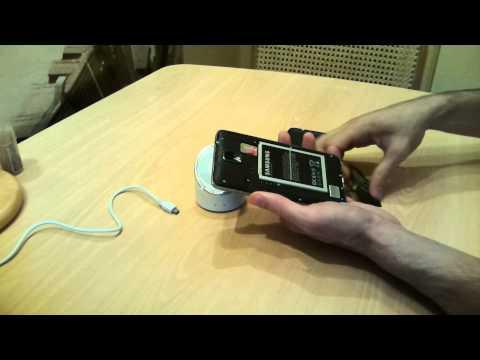 Беспроводная зарядка для note 2 своими руками