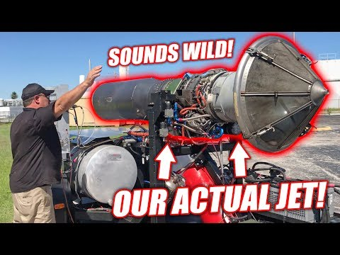 Test Firing Project Mullet s ACTUAL Jet Engine Spooling Up to 90 Throttle
