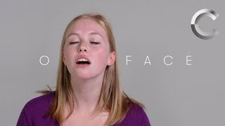 100 People Show Us Their O-Faces