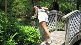 Cute Curvy Thai Model Tanny at Brookside Gardens