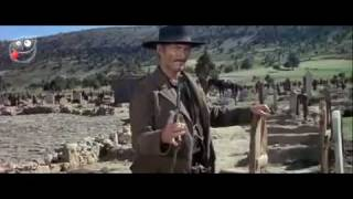 نهاية فيلم the good the bad and the ugly - Final scene