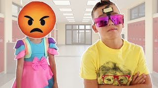 LETTING my Sibling DECIDE my Back to School HAIRCUT & Makeover!