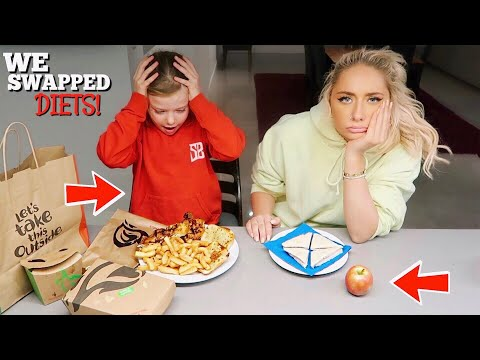 I swapped DIETS with a 7 year old for 24hours