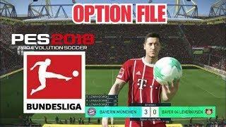 اوبشن فايل بيس 2018   تصحيح افرقة الدوري الالماني   option file Bundesliga pes2018