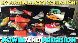 My Football Boot Collection 2016! Nike, Adidas, Puma and More!