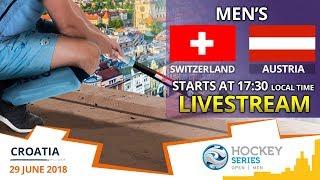 Switzerland v Austria | 2018 Men's Hockey Series Open Zagreb | FULL MATCH LIVESTREAM
