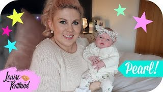 Pearl 'Stats' & Meeting her Big Sister | MOTHERHOOD