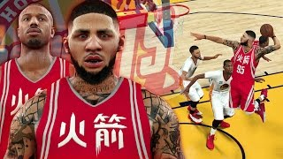 NBA 2K17 MyCAREER LVP - Justice Young Is SO TRASH!! 50 POINT GAME WASTED!!