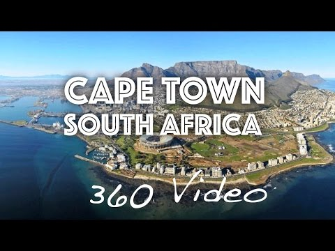 Best Places to Visit in Cape Town South Africa 360 Video