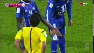 بالفيديو هدف عالمي واصابة خطيرة للاعب حسن عبدالفتاح