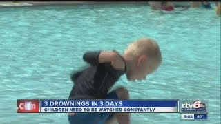 Child, 2, drowns in Morgan Co. swimming pool