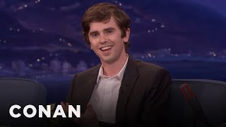 Freddie Highmore Found Killing People On