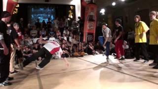 Rocking Skillz [GER] vs B8B [Schweiz] @ Soul Expression 2011