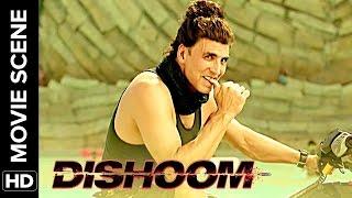Akshay makes fun of John & Varun | Dishoom | Movie Scene