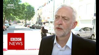 "London Mosque Attack: ""People must be free to practise faith"" Jeremy Corbyn BBC News"