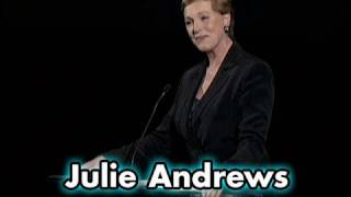 Julie Andrews on THE SOUND OF MUSIC