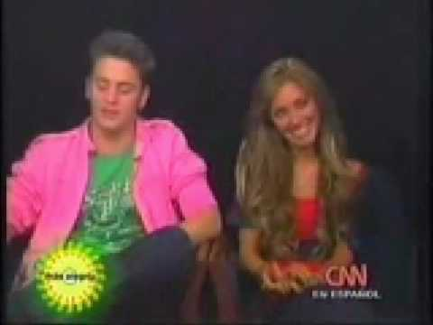 Anahi y Christopher Entrevista