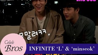 INFINITE L & Minseok, Celeb Bros S6 EP5