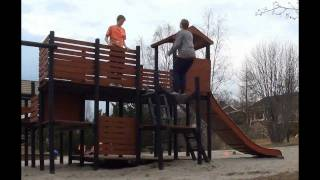 Parkour & Free Running Fails Compilation - Part 1
