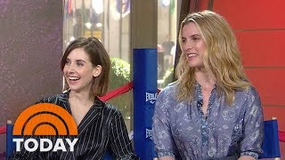 Alison Brie, Betty Gilpin: We Trained For A Month With A Pro-Wrestler For 'GLOW' | TODAY
