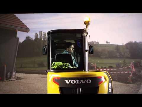 Volvo EC35D/ECR35D/ECR40D: Control in comfort