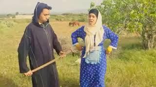 علي ومريم الزايدي يرقصان على اغنية شعبية 😂😂😂 حك جر عادا عادا 😅😅😅