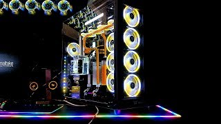 The Craziest Custom Water Cooled Case Mods of Computex 2018 - Ultimate PC Builds