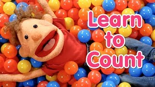 Super Duper Ball Pit | Learn To Count From 1 To 10 | Numbers For Kids