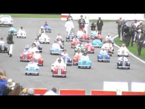Goodwood Revival 2013 Settrington Cup Pedal Car Race Race One