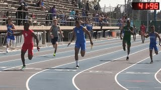 2016 Track - California Relays Boys 4x100M Relay Final