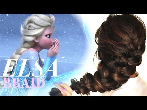 Xxx Mp4 ★FROZEN ELSA S Messy BRAID HAIR TUTORIAL CUTE HAIRSTYLES 3gp Sex