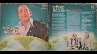 Ranjish Hi Sahi [LIVE IN INDIA   TWO LP ALBUM] Mehdi Hassan / Ahmed Faraz / Another Great Rendition