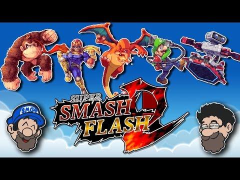 THIS SMASH GAME IS AMAZING || Super Smash Flash 2