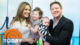 Savannah's Baby Charley And Big Sister Vale Are Surprise Guests | TODAY