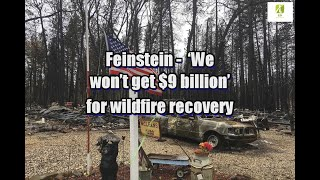 Feinstein: 'We won't get $9 billion' for wildfire recovery