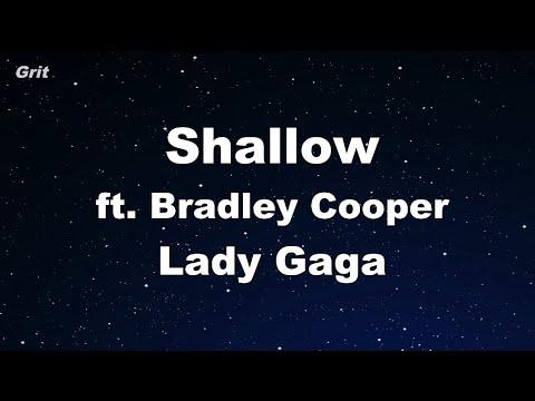 Shallow - Lady Gaga, Bradley Cooper Karaoke 【No Guide Melody】 Instrumental