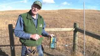 How to hook up an electric fence energizer