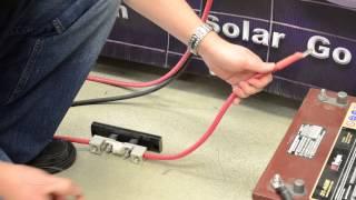 Go Power! 1500 watt Pure Sine Wave Inverter Product Installation