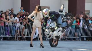 Jason Britton - No Limit Stunt Show @ Southbay Motors